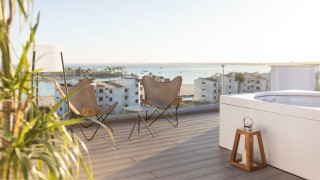 Caprice Alcudia Port Presidential Suite Bedroom Roof Top terrace