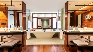 The Datai Langkawi Canopy Deluxe bathroom