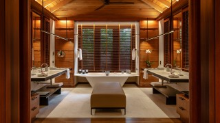 The Datai Langkawi Rainforest Villa bathroom