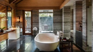 The Datai Langkawi One Bedroom Beach Villa bathroom