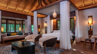 The Datai Langkawi Rainforest Villa bedroom