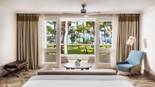 OO LeSaintGeran Ocean Front Room or Two Bedroom Family Suite Bedroom Wide