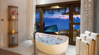Ozen by Atmosphere at Maadhoo Maldives Windvilla Bathroom