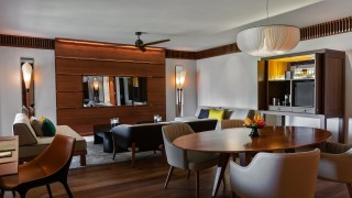 The Datai Langkawi Canopy Suite living room + dining 2 v2