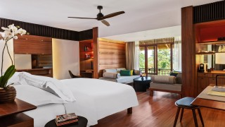 The Datai Langkawi Canopy Deluxe bedroom