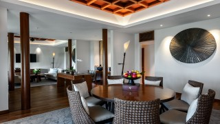 The Datai Langkawi The Datai Suite dining + living room